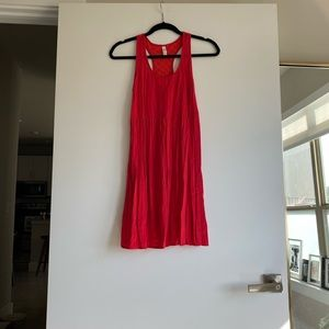 Red dress size XS